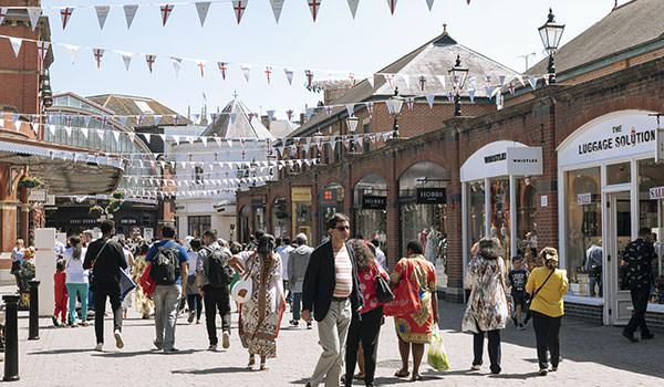 Shopping at Windsor Royal Station